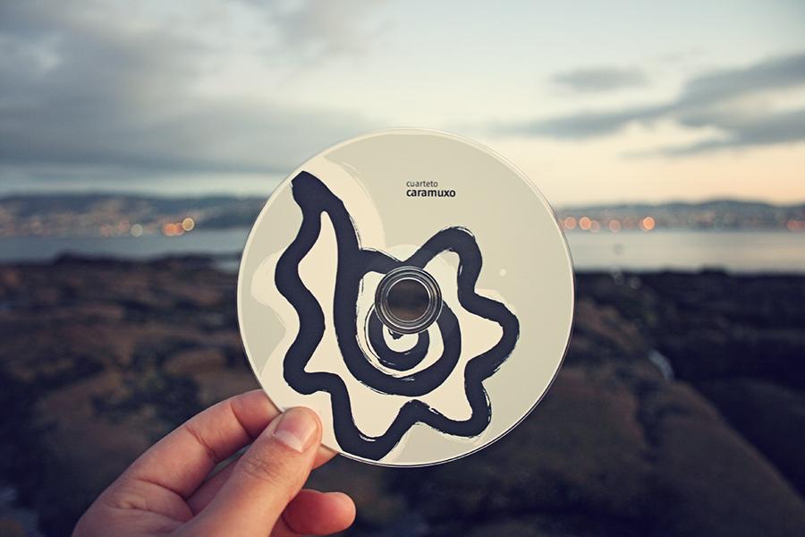 Proposta deseño álbum Cuarteto Caramuxo