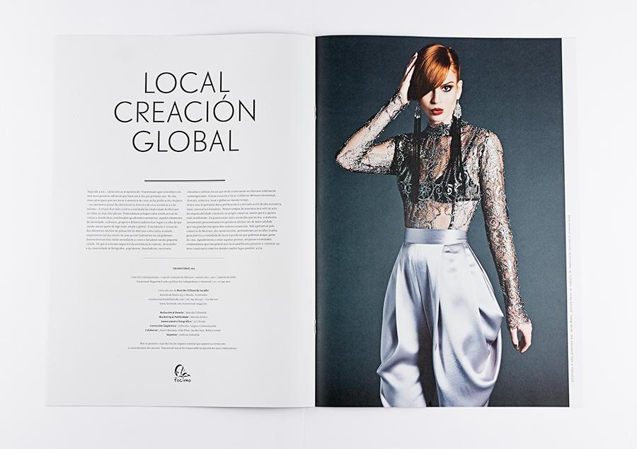 Transversal Magazine, creatividade do Morrazo