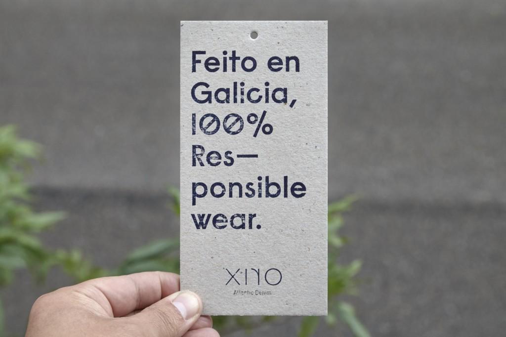 Etiquetas Xiro Eco Denim Jeans